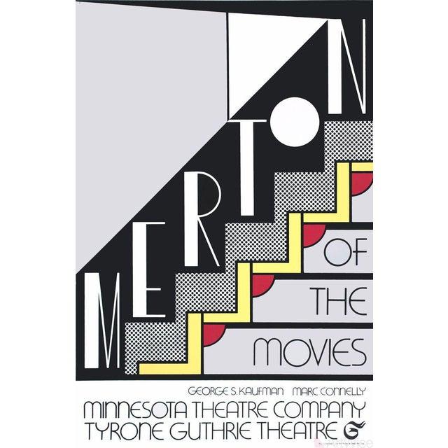 Roy Lichtenstein, Merton of the Movies, 1968 Foil Print For Sale