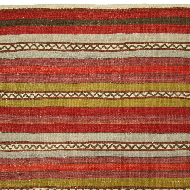 Groovy Vintage Turkish Sofreh Kilim - 3'6 X 4' - Image 3 of 3