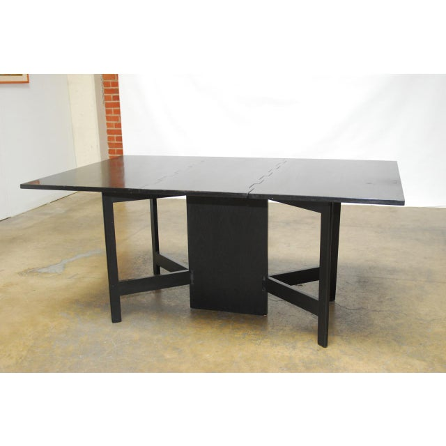 George Nelson Drop Leaf Dining Table Chairish