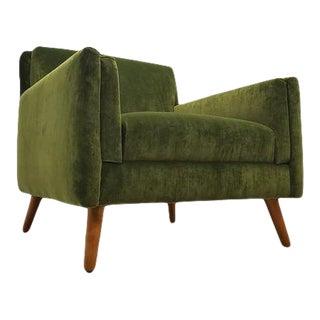 Mid-Century Modern Paul McCobb Planner Group Green Chair For Sale