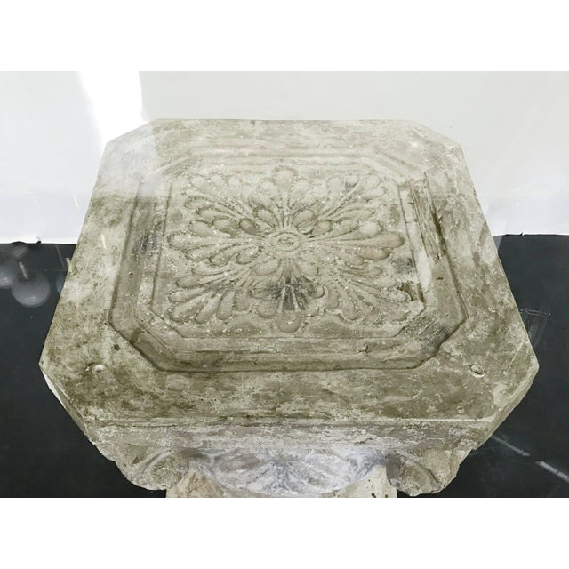 1970s Faux Stone Table For Sale - Image 9 of 12