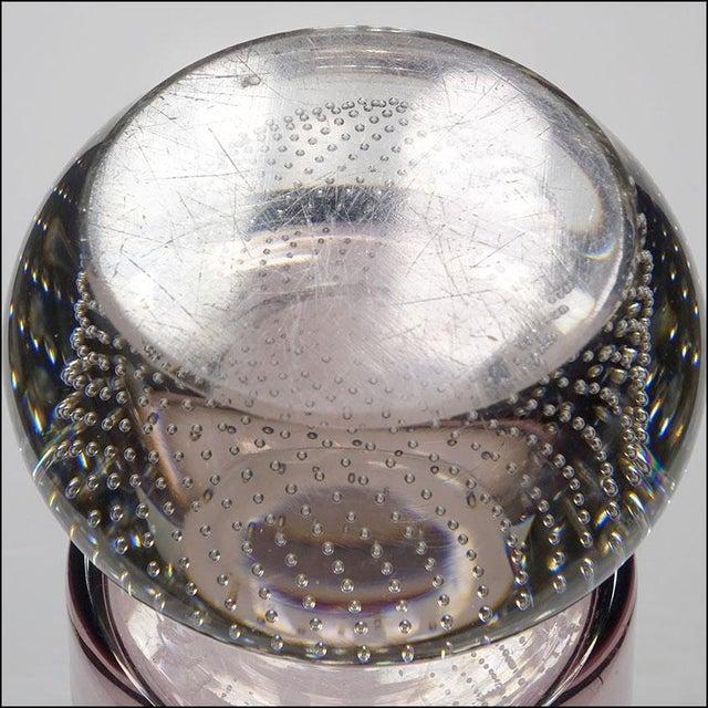Glass Mid-Century Modern Erickson Studio Bullicante Art Glass Vase For Sale - Image 7 of 9