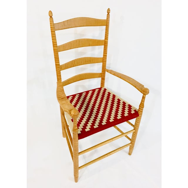 Reproduction Shaker Arm Chair - Image 2 of 8