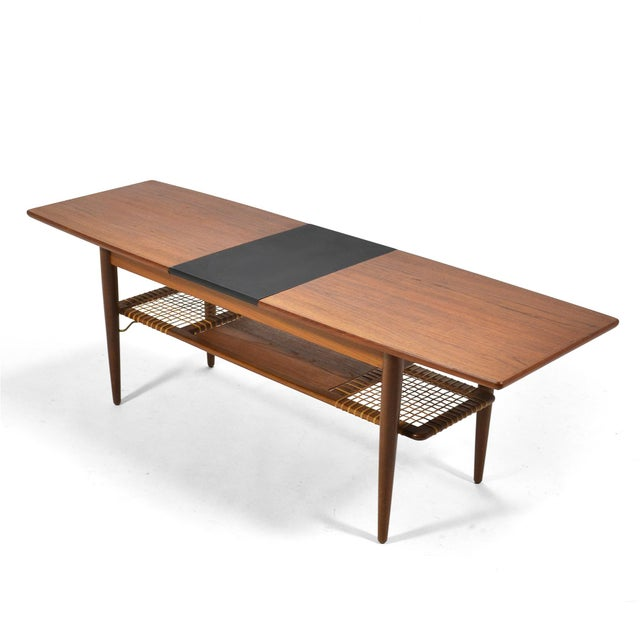 Danish Teak Extension Coffee Table For Sale - Image 11 of 13