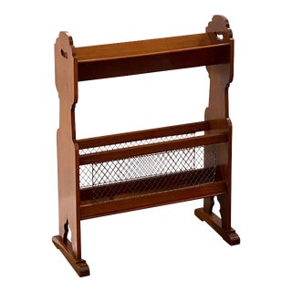 English Library Bookstand of Walnut from the Edwardian Era For Sale