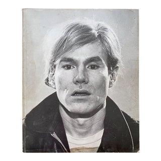 Andy Warhol Rare Vintage 1970 1st Edtn Iconic Pasadena Art Museum Landmark Exhibition Lithograph Print Pop Art Book For Sale