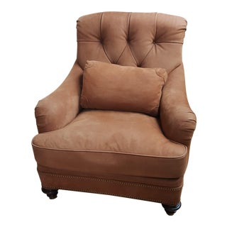 Hickory Chair St. James Tufted Lounge Chair For Sale