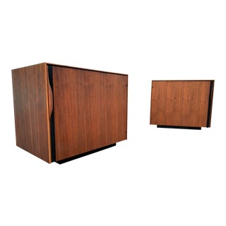 2 Mid Century Nightstands /Side Tables by Glenn of California For Sale
