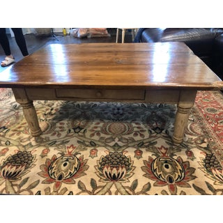 Farmhouse Collection by Hailey Idaho Solid Wood Coffee Table Preview