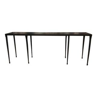 Bernhardt Black Holden Console Table
