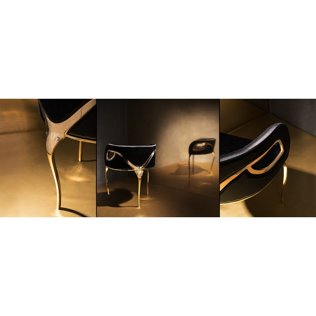 Not Yet Made - Made To Order Chandra Chair From Covet Paris For Sale - Image 5 of 9