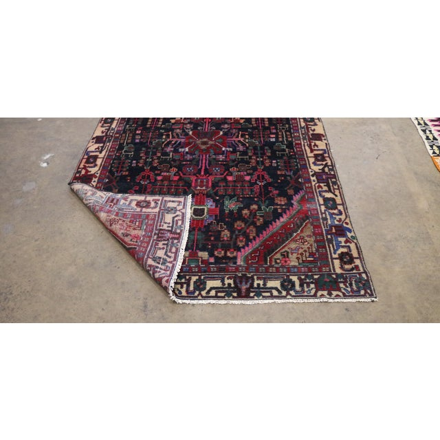 """Midnight in the Garden Persian Rug - 4'7"""" x 10'8"""" - Image 5 of 7"""