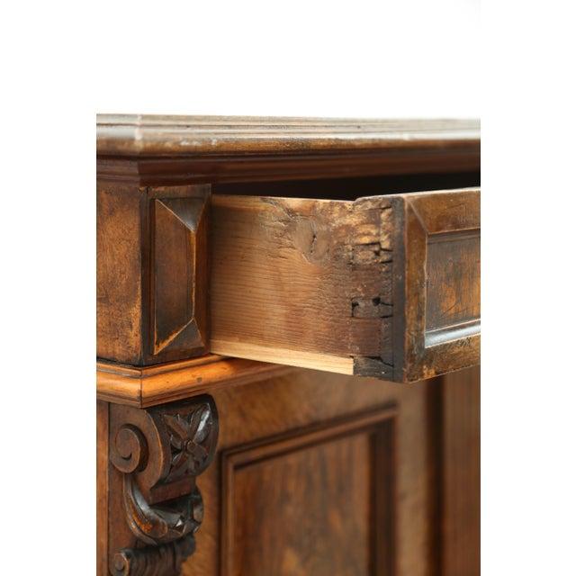 Biedermeier Style Walnut Cabinet, Germany, 1890 For Sale - Image 4 of 13
