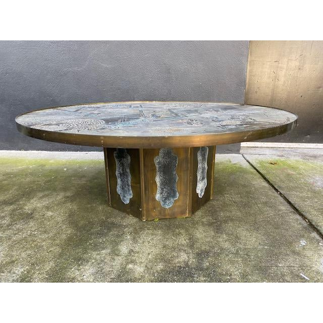 "1960"" Chinoiserie Phillip and Kelvin Laverne Chan Coffee Table For Sale - Image 13 of 13"
