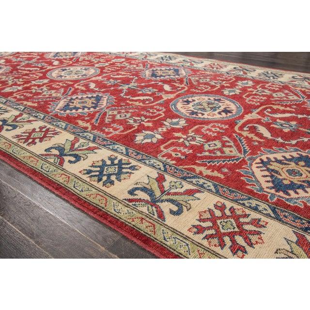 "Traditional Apadana Kazak Runner Rug - 5'6"" x 24'5"" For Sale - Image 3 of 8"