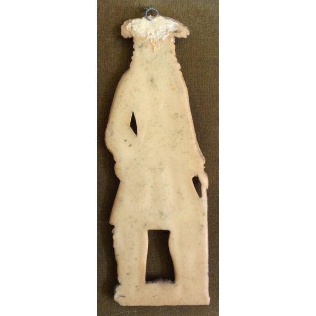 European Wax Gentleman's Portrait For Sale - Image 4 of 4