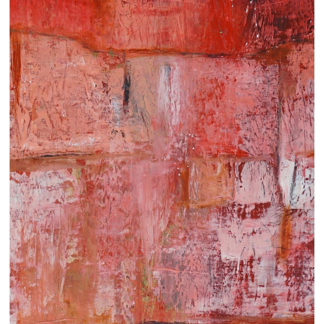 """Contemporary """"Terra Cotta"""" Contemporary Abstract Painting by Laurie MacMillan For Sale - Image 3 of 3"""