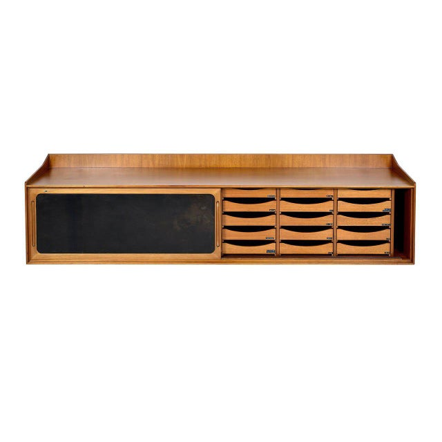 Danish teak wall hanging cabinet. Store formerly known as ARTFUL DODGER INC