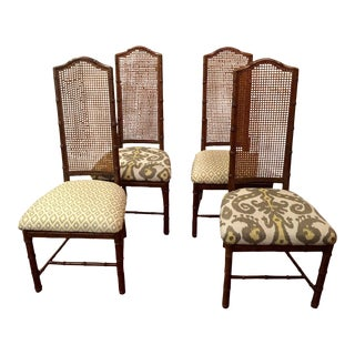 Henredon Upholstered Dining Chairs - Set of 4