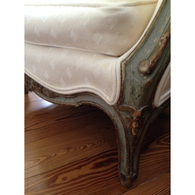 Louis XVI Style Bergere Chairs - A Pair - Image 3 of 6