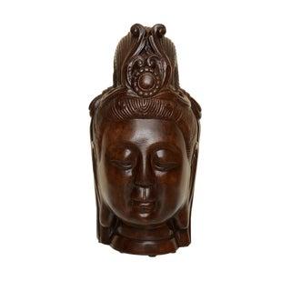 Vintage Resin Buddha Head For Sale