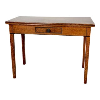Oak Tea Table, England Circa 1820 For Sale