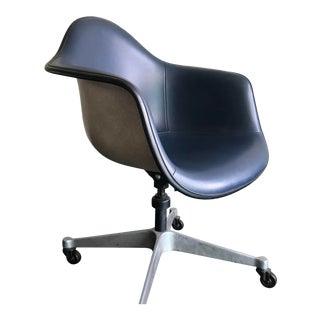 1970s Herman Miller Vinyl Shell Chair For Sale