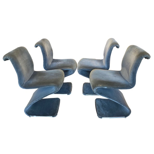 Linea Rima Z Chairs - Set of 4 For Sale - Image 13 of 13