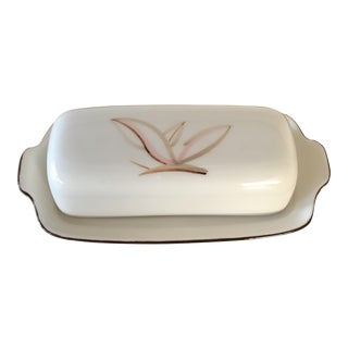 Winfield Dragon Flower Covered Butter Dish