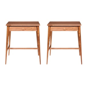 Pair of Primeau Nightstands For Sale