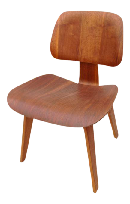 sc 1 st  Chairish & Charles Eames Dcw Chair Evans Production Full Label 1947 | Chairish