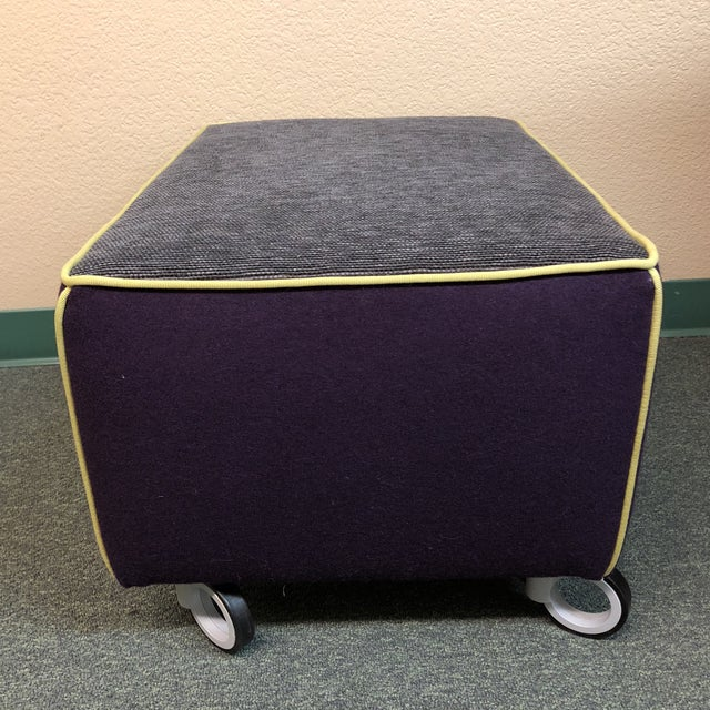 Design Plus Gallery presents a custom ottoman that makes an impression. Created by Environmental Designs, the fully...