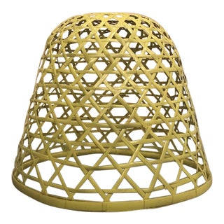 Rattan Wicker Chandelier Ceiling Shade