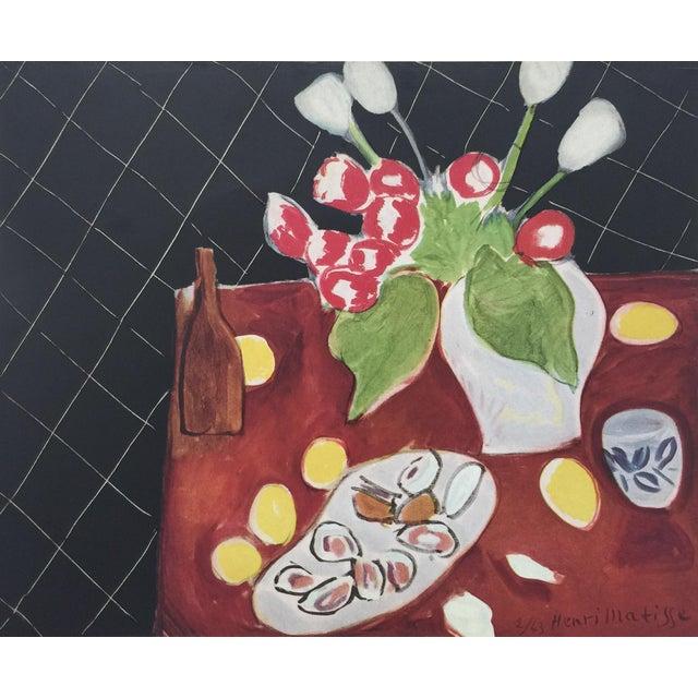 1943 Matisse Portfolio Lithographic Prints Book For Sale - Image 9 of 13