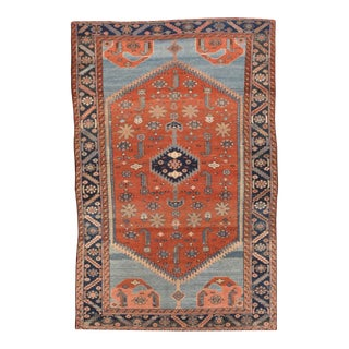 Antique Red Persian Malayer Rug For Sale
