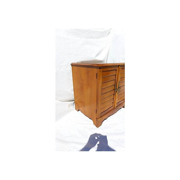 Vintage Maple File Cabinet For Sale In New York - Image 6 of 8