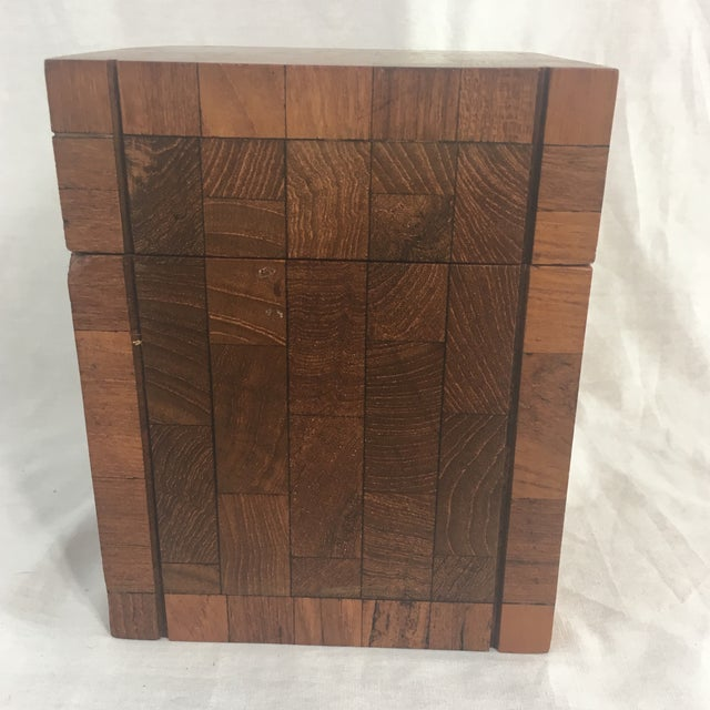 Dunhill Vintage British Crown Colony Teak Humidor Box - Image 2 of 8