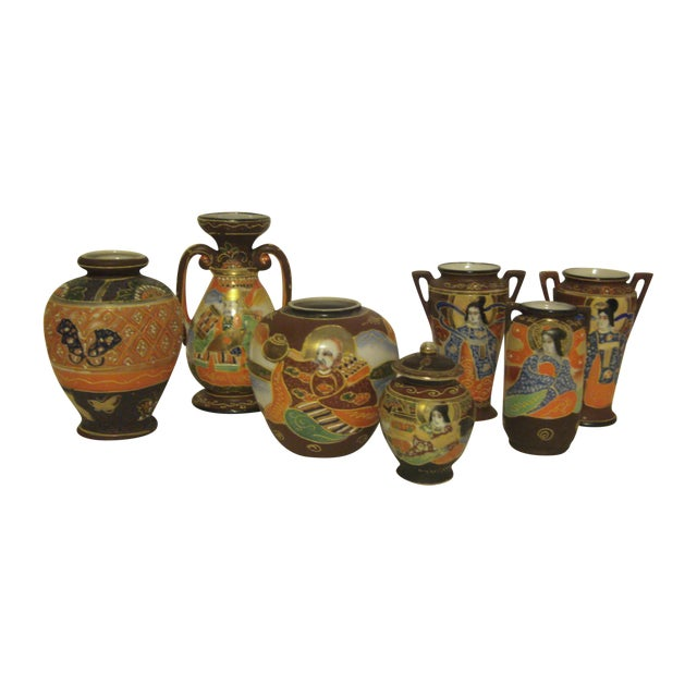 Assorted Vintage And Antique Vases - Set of 7 - Image 1 of 11