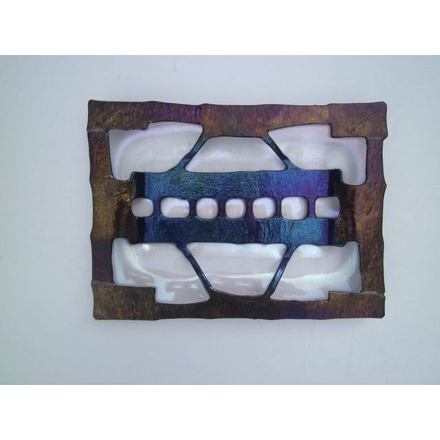 Decorative Fused Glass Dish - Image 3 of 8