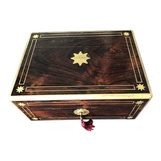 19th Century William IV English Jewelry Box For Sale