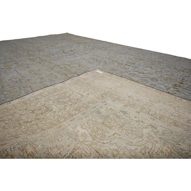 20th Century Turkish Rug With Muted, Neutral Colors For Sale - Image 4 of 5