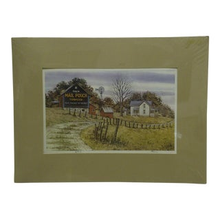 """Rural Winter"" Signed Numbered (32/500) Print by Don Fusco For Sale"