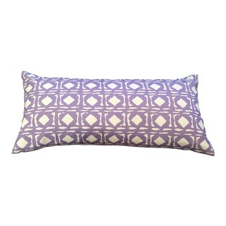 Dana Gibson Purple Lumbar Pillow