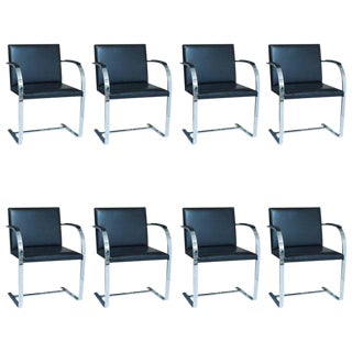Knoll Brno Chairs - a Set of 8