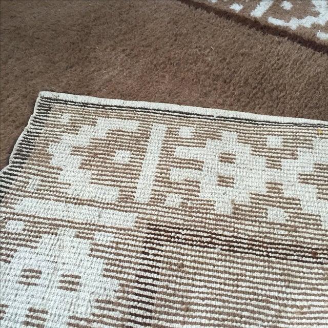 """Vintage Alpaca & Wool Peruvian Rug - 6'4"""" X 4'10"""""""