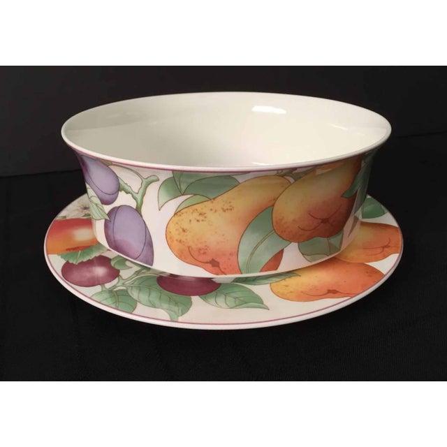 Villeroy & Boch, Gallo Design, Frutteto, Chop/Charger Plates - Set of 5 For Sale In Philadelphia - Image 6 of 13