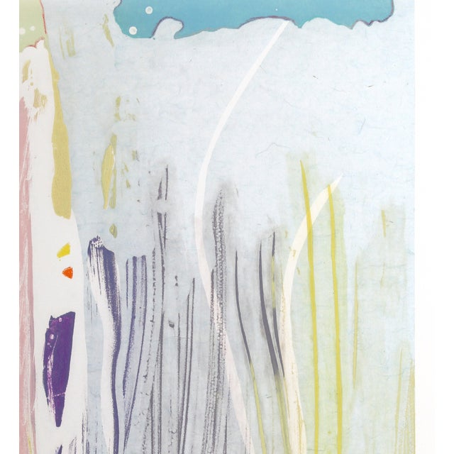 Artist: Michael Steiner, American (1945 - )<br>Title: Untitled 1<br>Year: circa 1980<br>Medium: Serigraph, signed and...