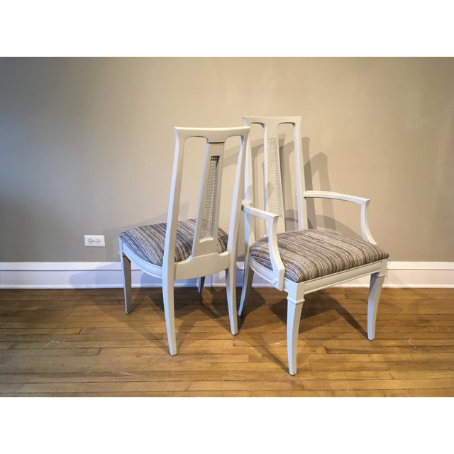 Vintage Dining Chairs- Set of 6 For Sale - Image 4 of 7