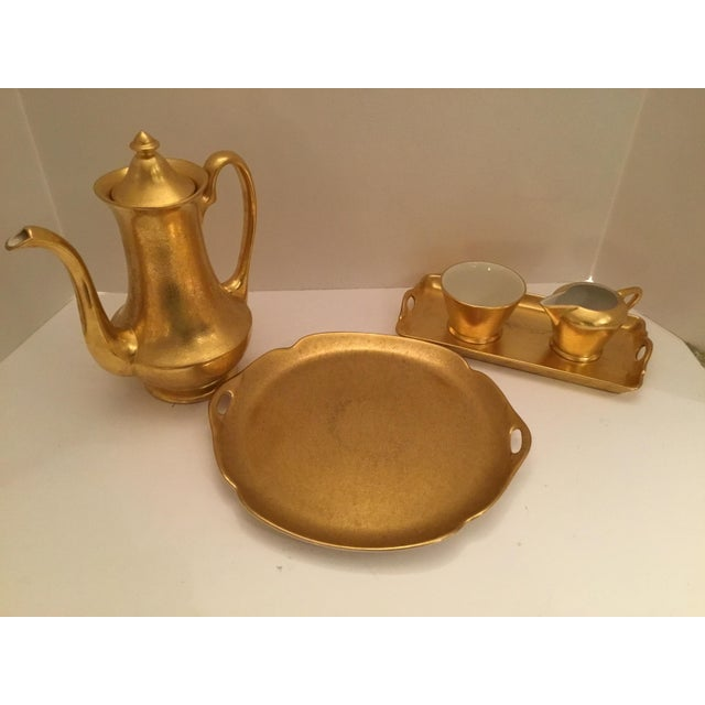 Gold Pickard Tea Service For Sale - Image 9 of 9