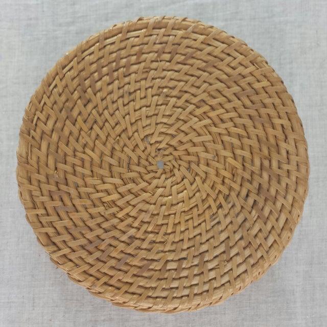 Bamboo Woven Basket - Image 6 of 6